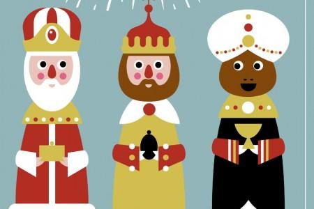 Cabalgata de Reyes en el Tinte