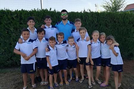 Grupo de la Escuela en Mairena