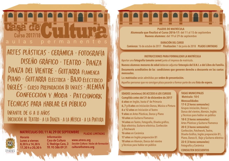 Casa Cultura 2017