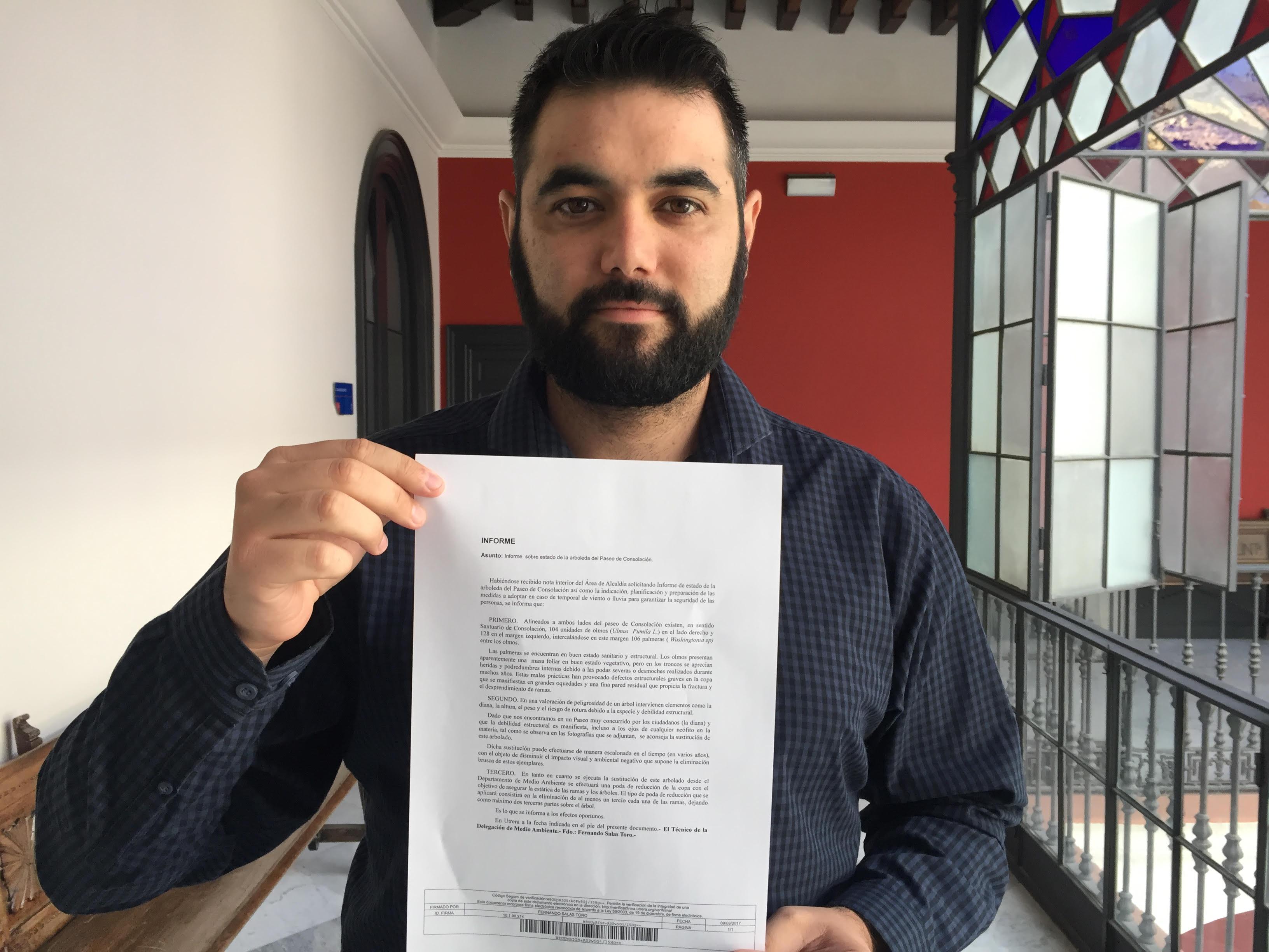 Carlos Guirao informe Paseo