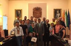Visita alcaldes Ecuador