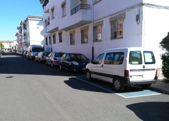 aparcamiento discapacitado