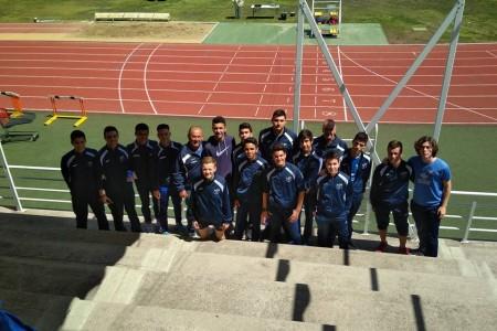 Foto grupo Junior club utrerano atletismo