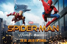 SpidermanHomecoming-cartel-horizontal cine de verano