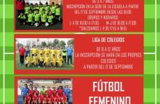 cartel escuela futbol