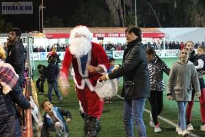 Papá Noel visitó el San Juan Bosco