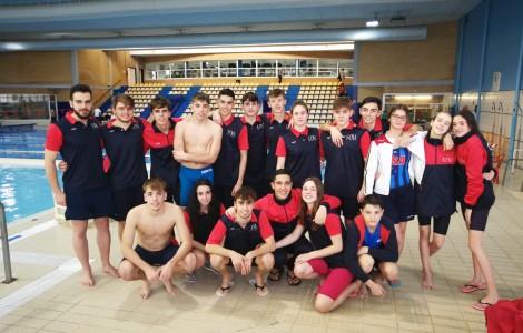 Grupo nadadores inf-jun-abs