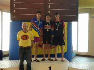 Bronce Jose Antonio Casaus natacion en cadiz