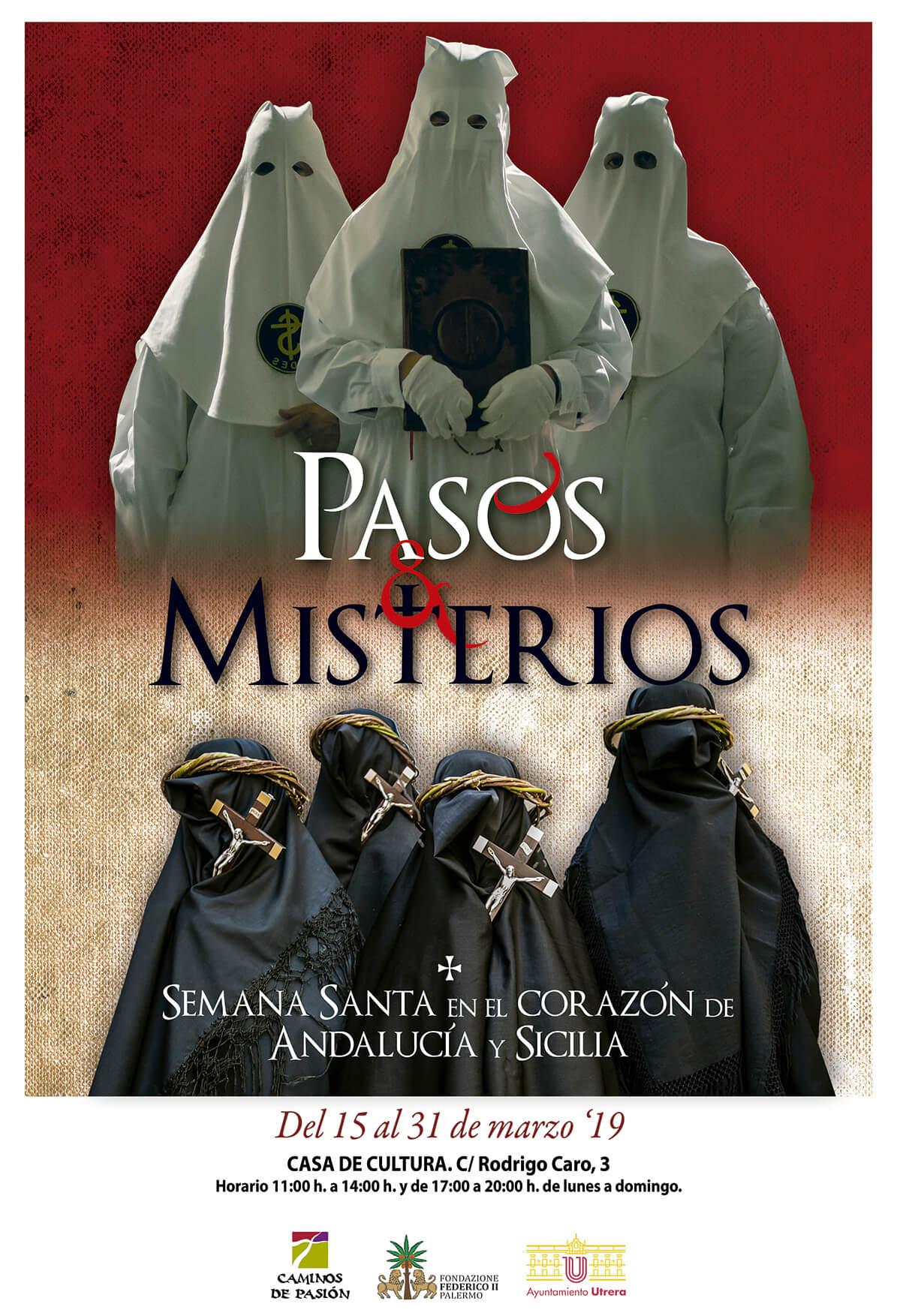 cartel semana santa sicilia andalucia
