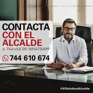 whatsapp alcalde