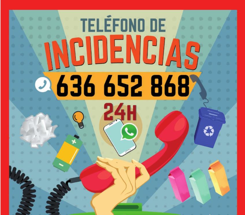 TELEFONO INCIDENCIAS 2