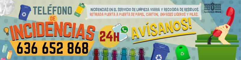 campaña teléfono incidencias fcc